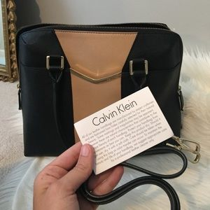 Calvin Klein leather handbag NEW. 9'5 L 13 W